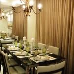 MESA DO DIA: Para um jantar, Branca e Verde