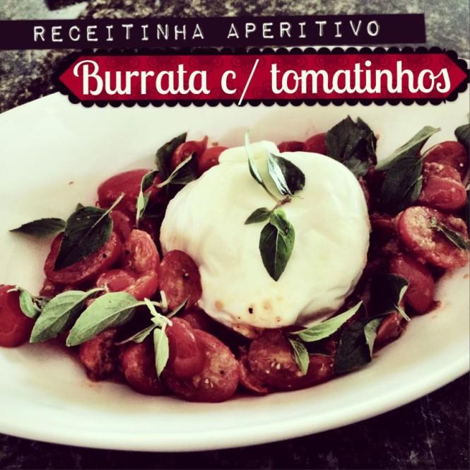 Receita Burrata