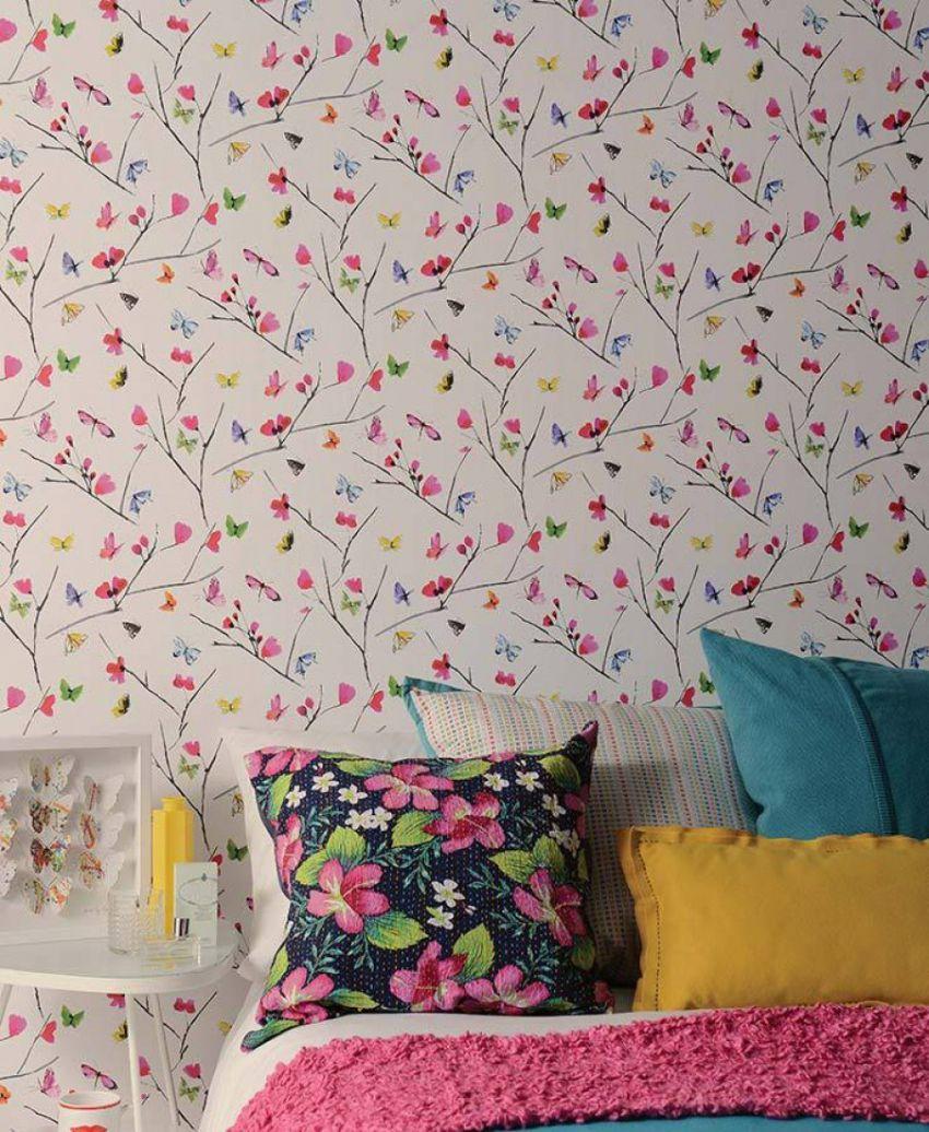 Dicas para usar papel de parede no quarto