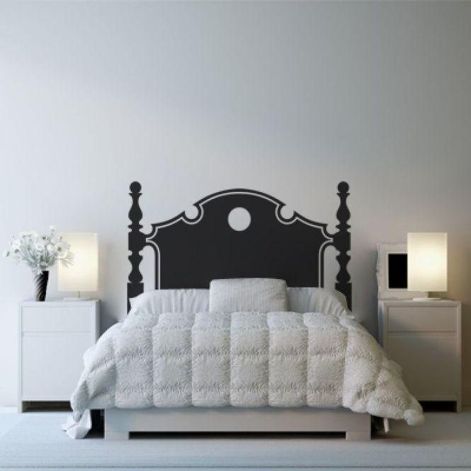 Cabeceira de cama de adesivo