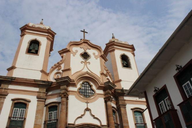 Igreja da Nossa Senhora do Pilar em Ouro Preto