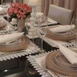 Mesa do dia: Para um jantar, elegância e modernidade