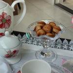 Bandeja para um chá da tarde