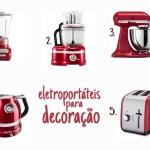 Eletrodomesticos como itens de decoração – Compra Certa