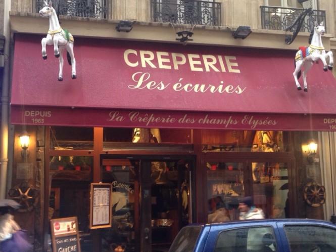 Creperie Les écuries - La Crêperie de Champs Elysees