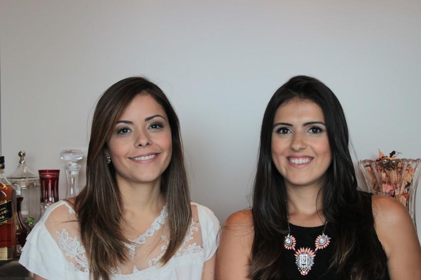 Bel Ornelas e Juliana Santiago