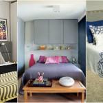 Decoração de cama: Estilo de colcha e almofadas