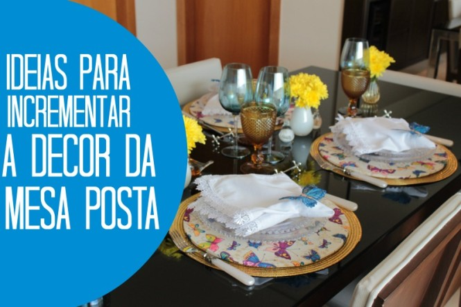 Capa- decor mesa posta