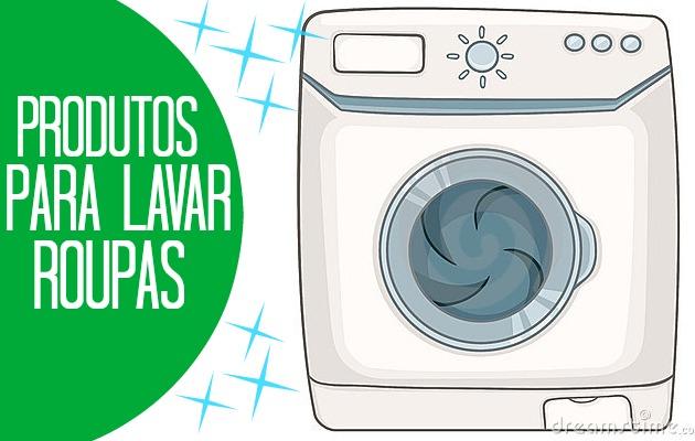 Capa - Produtos para lavar roupa
