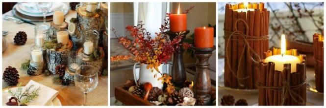 Ideias de arranjos ne mesa no outono (4)