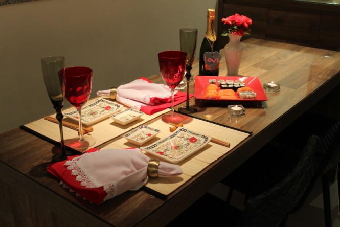 Mesa posta jantar japon s vida de casada - Mesas japonesas ...