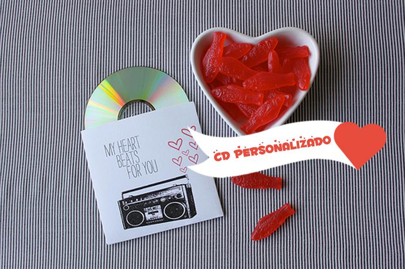 presente dia dos namorados cd personalizado
