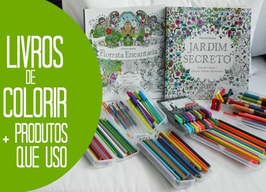 capa - Livros de colorir