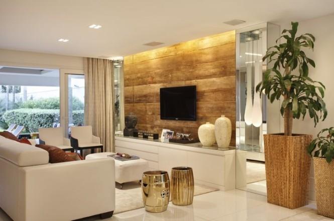 Dicas ideias e truques de decora o de sala de estar for Sala de estar neutra