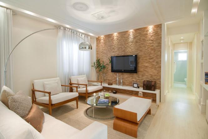 Dicas ideias e truques de decora o de sala de estar for Sala de estar dimensiones