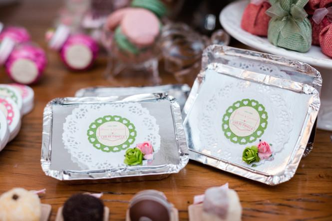 decoração de chá de panela verde e rosa (11)