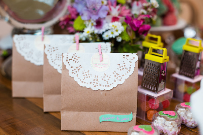 decoração de chá de panela verde e rosa (47)