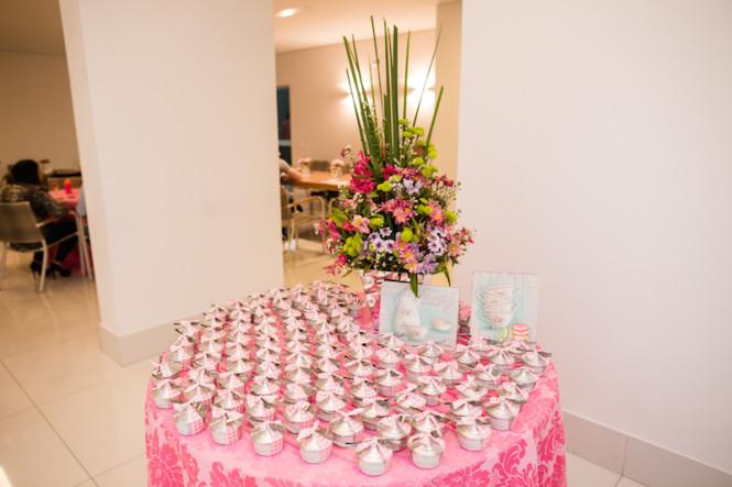 decoração de chá de panela verde e rosa (59)