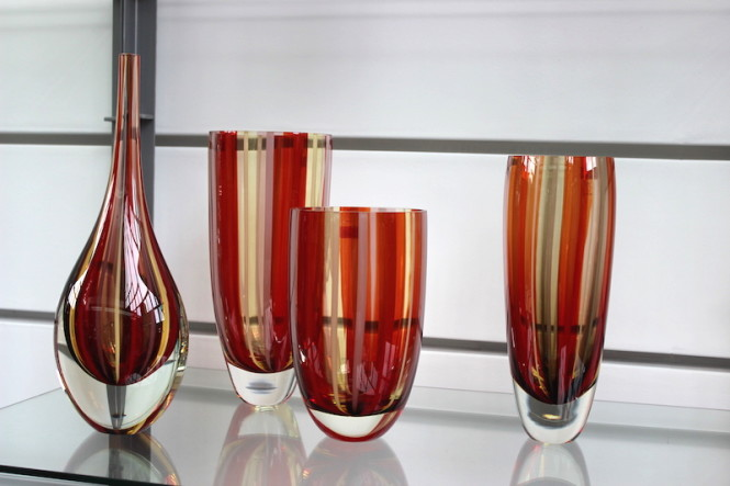 vaso cristais cadoro