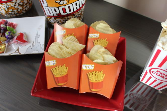 Embalagem de batata frita