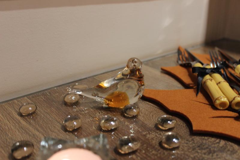 passarinho de cristal