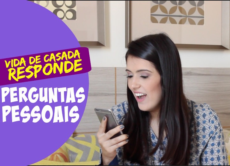 Capa - Video perguntinhas pessoais