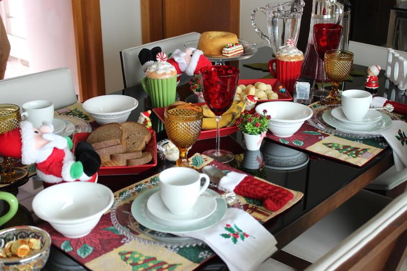 cafe da manha natal