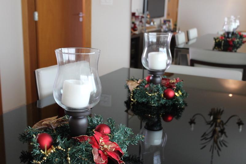 centro de mesa de natal diy