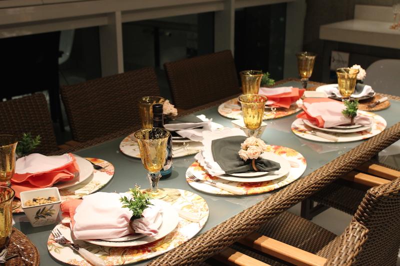 decoracao de mesa de jantar