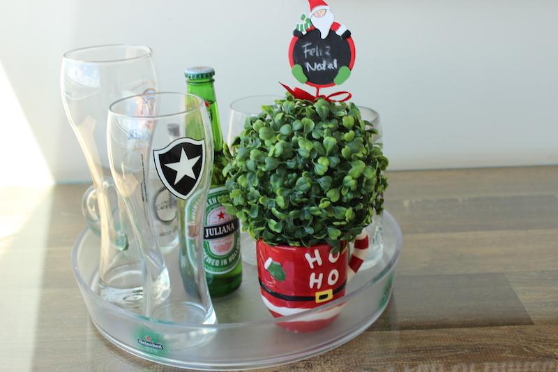 decoracao de natal bandeja
