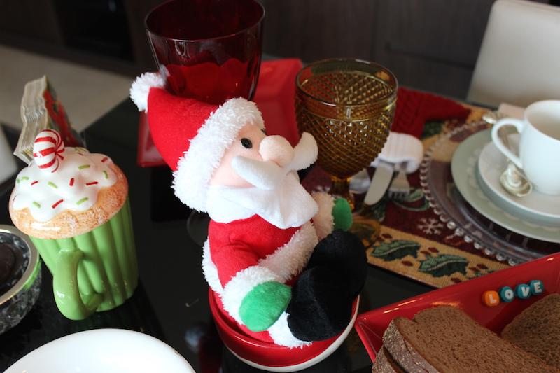 decoracao de natal mesa
