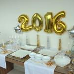 Decoração de ano novo e menu para a ceia – Réveillon