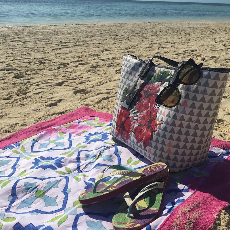 bolsa de praia schutz