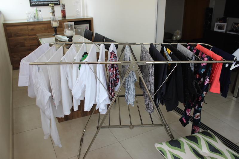 como secar roupas em dias de chuva