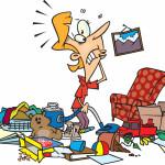 Rotina diária de organização da casa