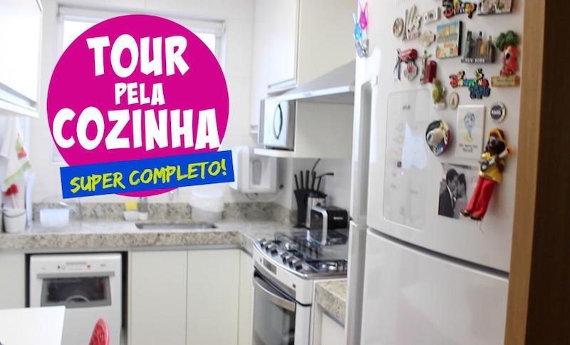 Capa - Tour pela Cozinha