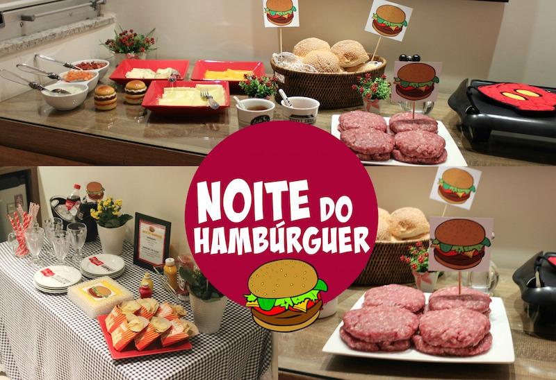 hamburguer receita decoracao