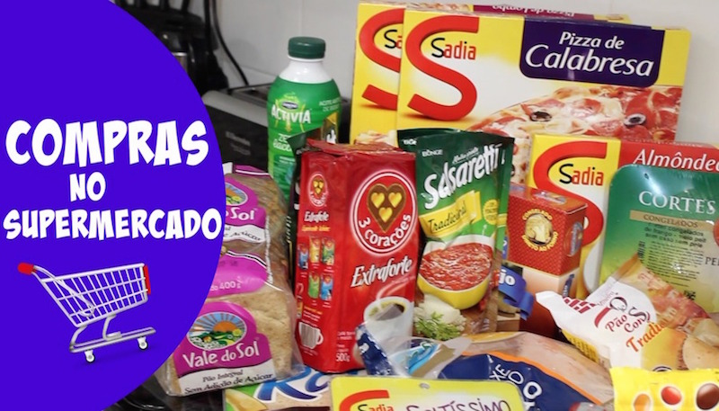 Capa - Compras supermercado
