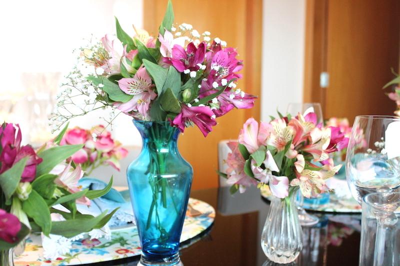 arranjo de flores para mesa
