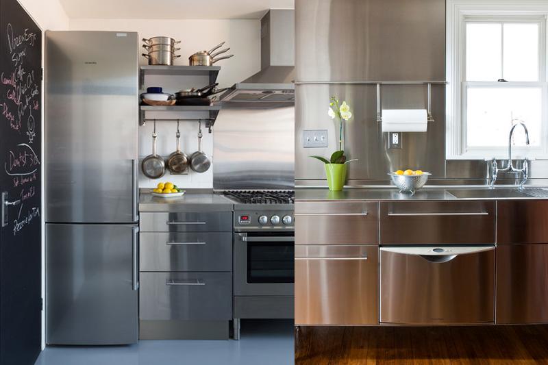 cozinha com armario de aco