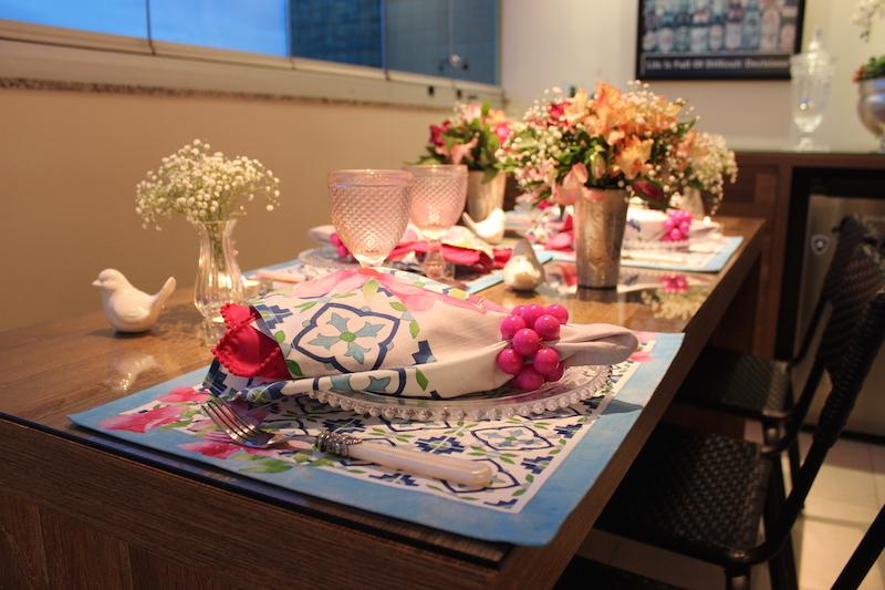 decoracao de mesa para jantar