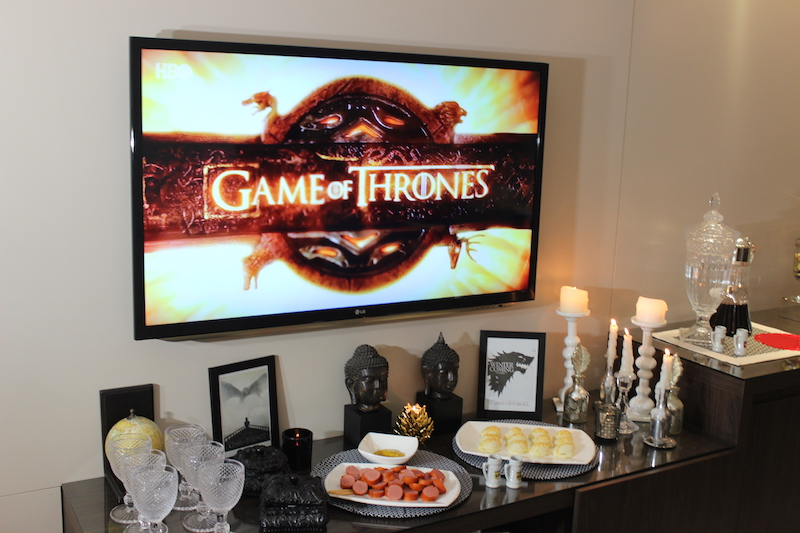decoracao game of thrones