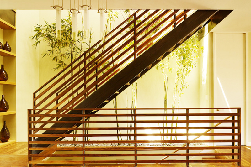 escada jardim de inverno