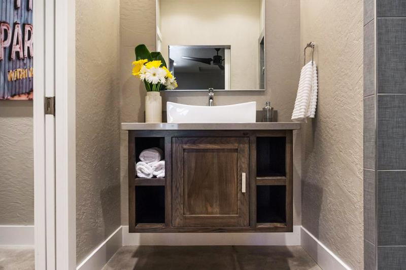 Decoração de Banheiro Pequeno  Dicas e truques!  Vida de Casada -> Pia Movel Banheiro