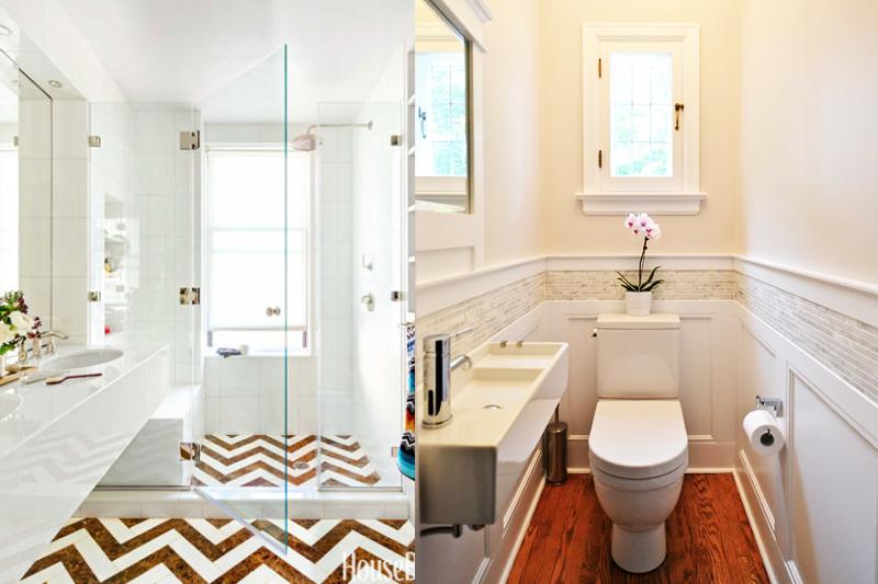 Decoração de Banheiro Pequeno  Dicas e truques!  Vida de Casada -> Pia Banheiro Estreita