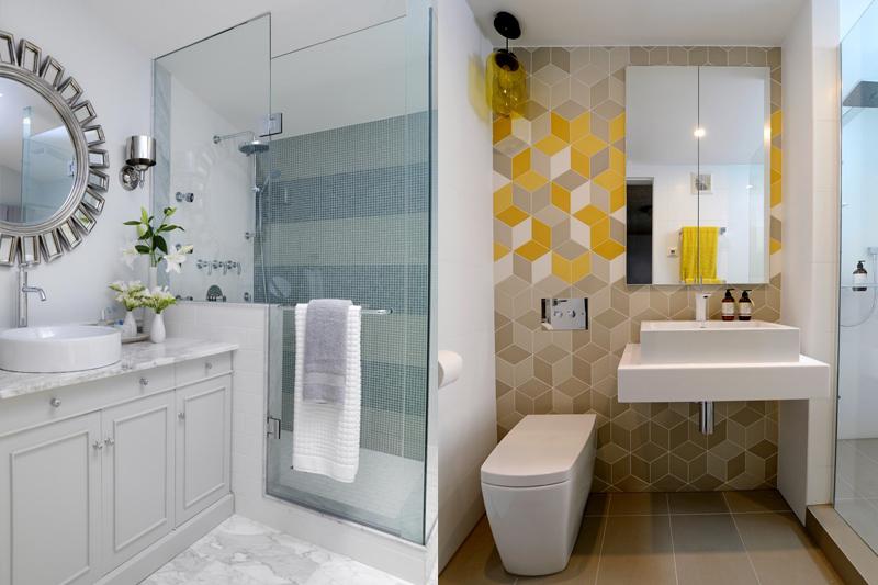 Decoração de Banheiro Pequeno  Dicas e truques!  Vida de Casada -> Banheiro Pequeno E Clean