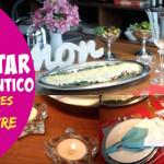 Que tal surpreender o marido com um jantar romântico?