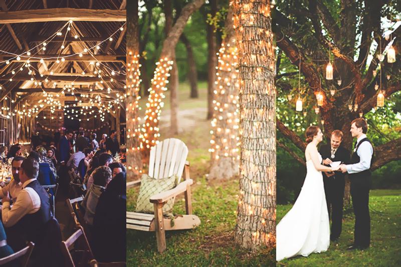 casamento no campo dicas iluminacao