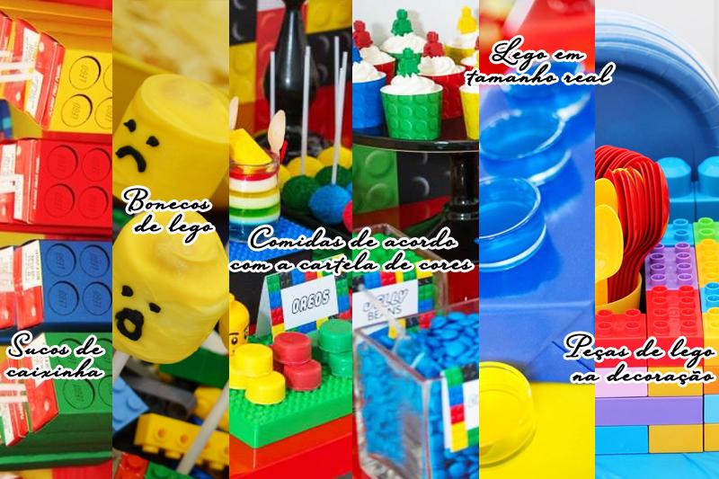 temas de festa infantil lego