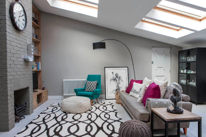 decoracao de sala simples e barata